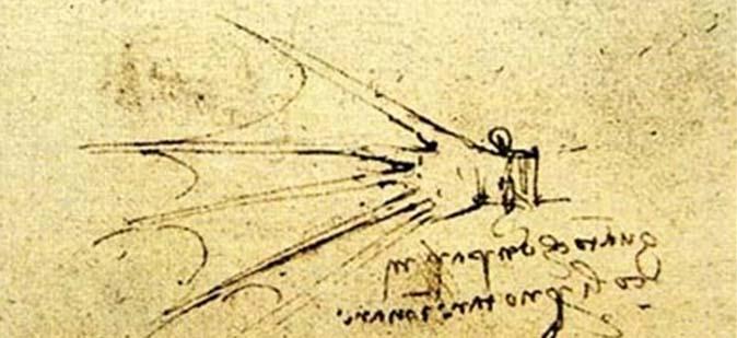 Леонардо да Винчи был первым